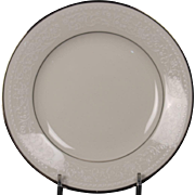 Beautiful Noritake Bread and Butter Plate in the ''Sorrento'' Pattern.