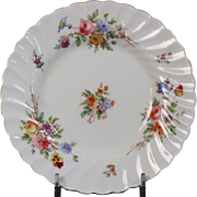 Beautiful Minton Bread and Butter Plate in the ''Marlow'' Pattern.