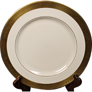 Lenox Dinner Plate in the ''Westchester'' Pattern.  10-1/2''