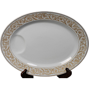 Beautiful Haviland ''Marquise'' Oval Serving Platter.