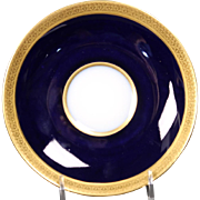Beautiful French Limoges Tresseman & Vogt Saucer circa 1905-1907.  5-3/4""