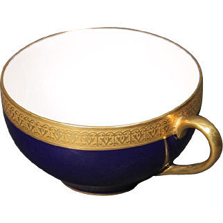 Beautiful French Limoges Tresseman & Vogt Cup circa 1905-1907.
