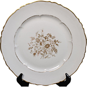 Beautiful Haviland Limoges China ''Floreal'' Dinner Plate.