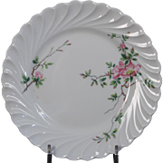 Beautiful French Limoges Haviland China ''Eglantine'' Bread and Butter Plate.