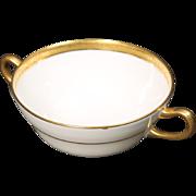 Tresseman & Vogt (T&V) Limoges Cream Soup Bowl