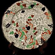 Royal Cauldron ''Bittersweet'' Dinner Plate.   10-5/8''