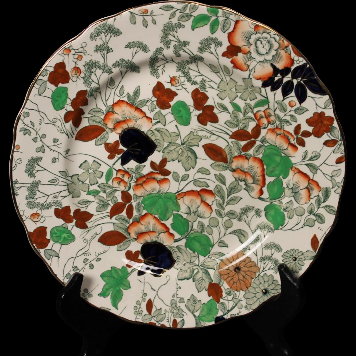 Royal Cauldron ''Bittersweet'' Salad Plate.   8-3/8''