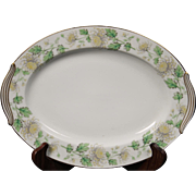 Noritake ''Stanford'' Oval Serving Platter.