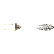 "Wallace & Sons Sterling Silver ""Grande Baroque""  Salad Fork"
