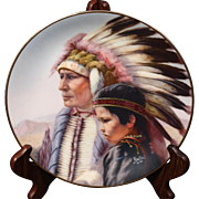 The Cheyenne by Periolle from the Vague Series, America's Indian Heritage. Plate# 2288-R