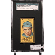 T205 RICHARD HOBLITZELL - 'Cin.'' After 2nd 1908 in Stats SGC grade 60 EX 5