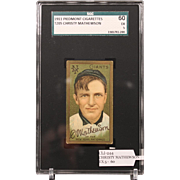 T205 Christy Mathewson SGC grade 60 EX 5