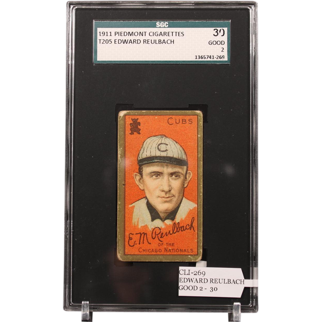 T205 Edward Reulbach SGC grade 30 GOOD 2