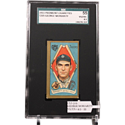 T205 GEORGE MORIARITY SGC grade 55 VG/EX+ 4.5