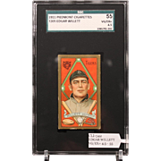 T205 EDGAR WILLETT SGC grade 55 VG/EX+ 4.5