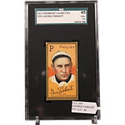 T205 GEORGE PASKERT SGC grade 45 VG+ 3.5