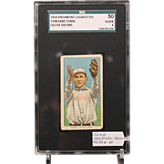 T206 JAKE STAHL - Glove Shows SGC grade 50 VG/EX 4
