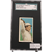 T206 RED AMES - Hands above Head SGC grade 50 VG/EX 4