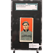 T206 TED EASTERLY SGC grade 40 VG 3