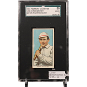 T206 HEINIE WAGNER - Bat on Right Shoulder SGC grade 50 VG/EX 4