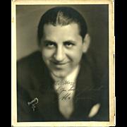 Abe Lyman Signed Photograph