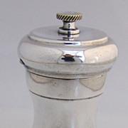 Pepper Grinder 1950 American Sterling Silver
