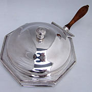 George III Sheffield Plate Toasted Cheese Dish 1790 - 1810