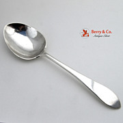 Arthur Stone Ernest Lehtonen Serving Spoon Pointed Antique Sterling Silver
