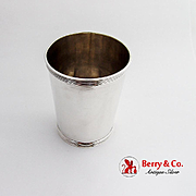 Vintage Banded Julep Cup Frank Smith Sterling Silver 1940