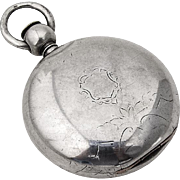 Huge Hunter Case Pocket Watch Coin Silver Case American Watch Co