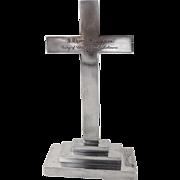 Presentation Cross Pedestal Base S Kirk And Son Inc Sterling Silver