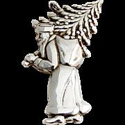 Gorham St Nicholas Christmas Ornament Sterling Silver 1976
