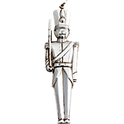 Gorham Toy Soldier Christmas Ornament Sterling Silver 1991