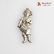 Gorham Drummer Boy Christmas Ornament Sterling Silver 1984