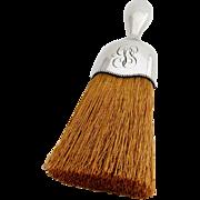 Art Nouveau Whisk Broom Beaded Rim International Sterling Silver 1900