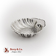 Vintage Small Shell Dish Gorham Sterling Silver 1940