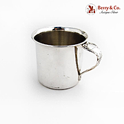 Old Master Baby Cup Towle Sterling Silver