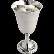 Strasbourg Water Goblet Gorham Sterling Silver 1950