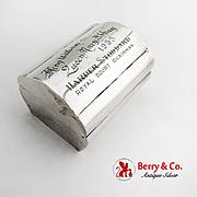 Treasure Chest Jewelry Box Plateria Emma Marroqui 950 Sterling Silver Mexico