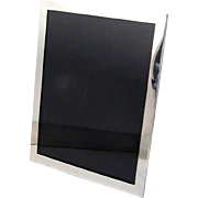 Vintage Large Rectangular Picture Frame Towle Sterling Silver 1950