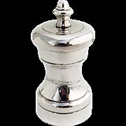 Vintage Pepper Mill Grinder Shreve Co Sterling Silver 1940