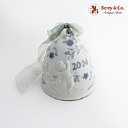 Lladro Porcelain Christmas Bell 2004 Hand Made Spain