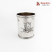 Julep Cup Washington Reproduction Woman of the Year 1953 Sterling Silver