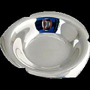Tiffany Modernist Serving Bowl Sterling Silver 1965
