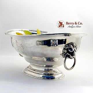 Centerpiece Fruit Bowl Sterling Silver John Edward Terrey London 1829