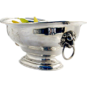 Centerpiece Fruit Bowl Sterling Silver John Edward Terrey London 1829