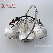Art Nouveau Basket Sterling Silver 1910