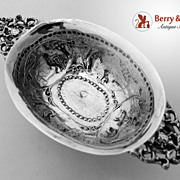 Dutch 930 Silver Brandy Bowl 1880