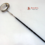 Toddy Ladle Elizabeth Morley Sterling SIlver Baleen Handle English 1806
