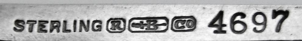 Ladies Sterling Silver Purse Compact Blackington 1900